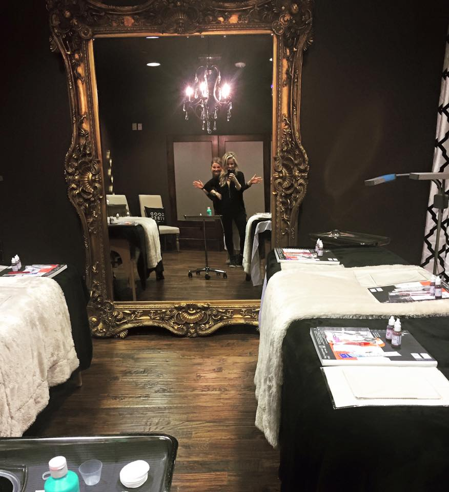 LET THE MICROBLADING CLASSES CONTINUE